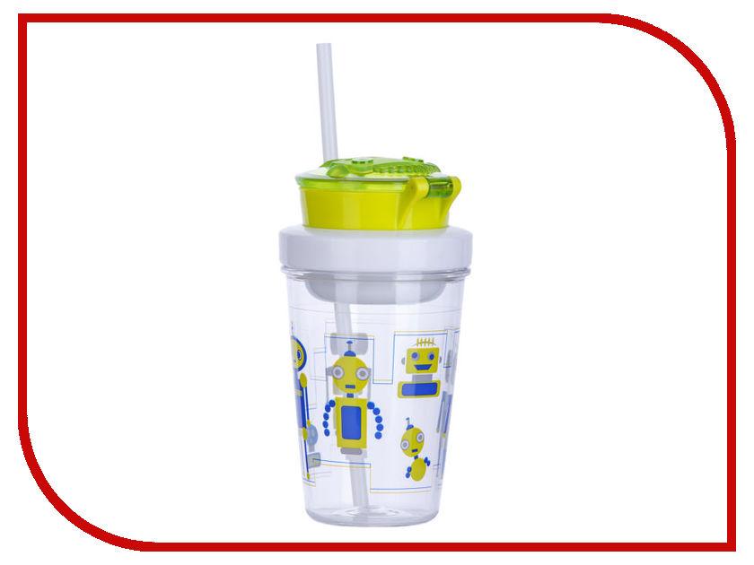 Детский стакан Contigo Snack Tumbler 350ml Green contigo0628 смешарики стакан детский 280 мл