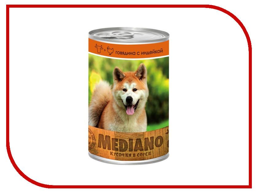 Корм VITA PRO Mediano Говядина/Индейка 405g для собак 66456