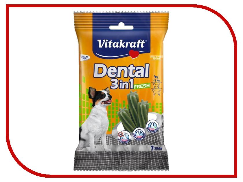 Лакомство Vitakraft Dental 3in1 Fresh для собак 30891
