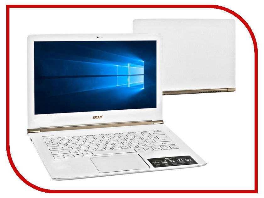 Ноутбук Acer Aspire S5-371 NX.GCJER.009 (Intel Core i3-6100U 2.3 GHz/4096Mb/128Gb SSD/No ODD/Intel HD Graphics/Wi-Fi/Bluetooth/Cam/13.3/1920x1080/Windows 10 64-bit) холодильник lg ga b429smcz silver