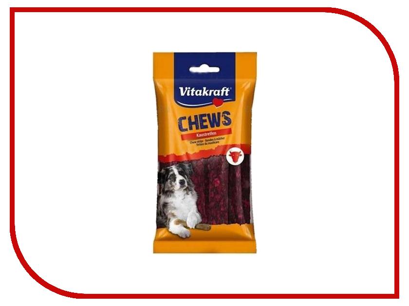 Лакомство Vitakraft Жевательные пластинки 12.5cm для собак Red 66429