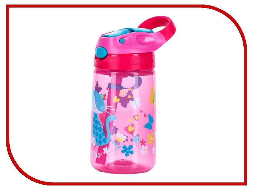 Бутылка Contigo Gizmo Flip 420ml Pink contigo0744 термокружка contigo contigo0502