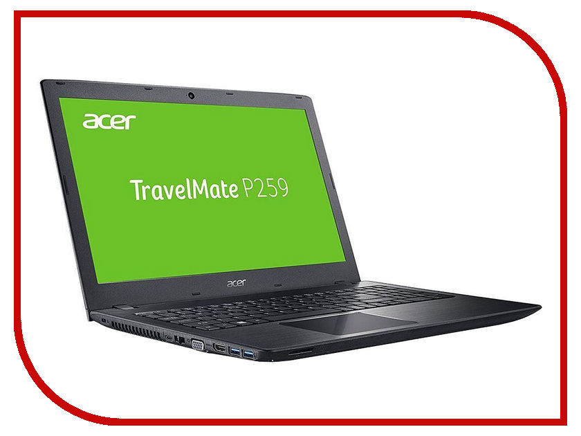 Ноутбук Acer TravelMate TMP259-MG NX.VE2ER.017 (Intel Core i5-6200U 2.3 GHz/8192Mb/2000Gb/No ODD/nVidia GeForce 940MX 2048Mb/Wi-Fi/Bluetooth/Cam/15.6/1366x768/Windows 10 64-bit) ноутбук acer travelmate tmp259 mg 56tu nx ve2er 014 i5 6200u 8gb 2tb 15 6 1920x1080 nvidia geforce 940mx 2gb wifi bt dvd sm cam linux black