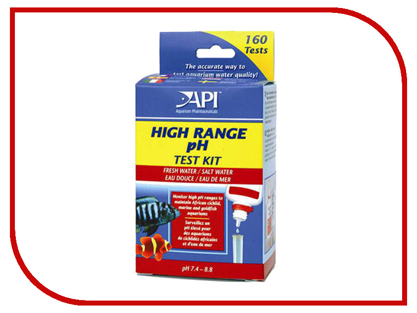 Средство API Hige Range pH Test Kit A27
