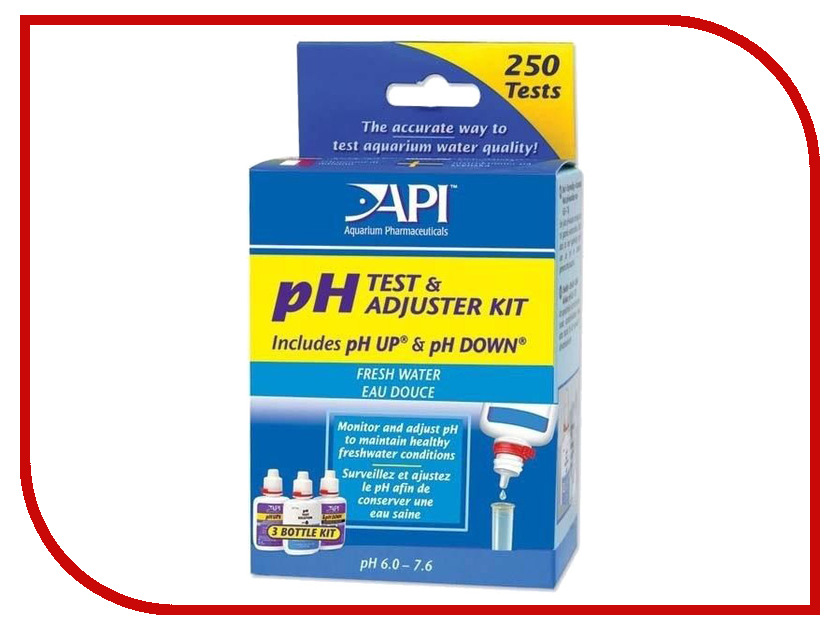 Средство API Freshwater Deluxe pH Test Kit A29A