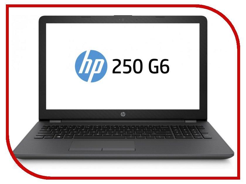 Ноутбук HP 250 G6 1WY50EA (Intel Celeron N3060 1.6 GHz/4096Mb/1000Gb/DVD-RW/Intel HD Graphics/Wi-Fi/Bluetooth/Cam/15.6/1366x768/DOS)