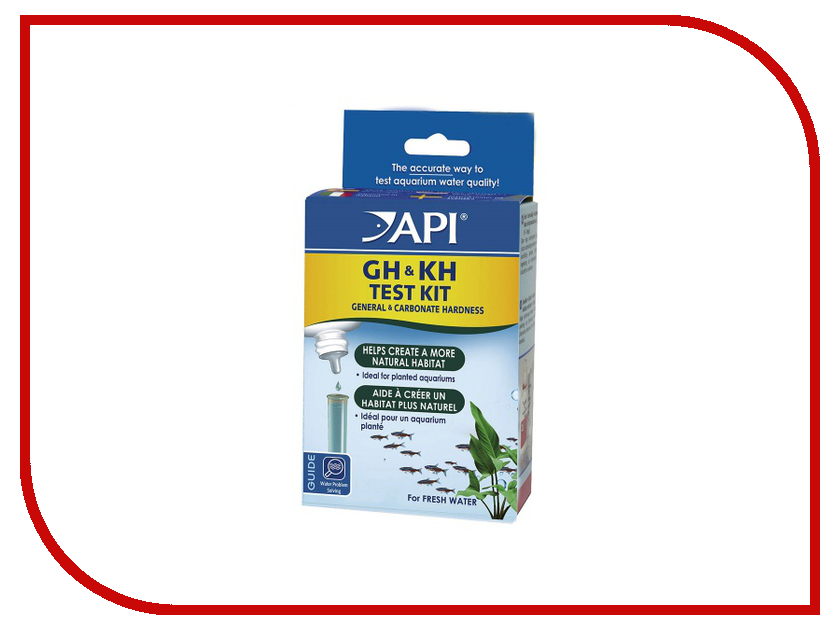 Средство API General & Carbonate Hardness Test Kit A58