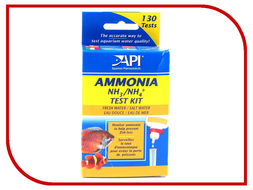 Средство API Ammonia Test Kit ALR8600
