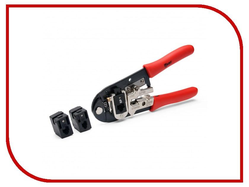 Пресс-клещи КВТ для RJ-разъемов JT-01B 69280