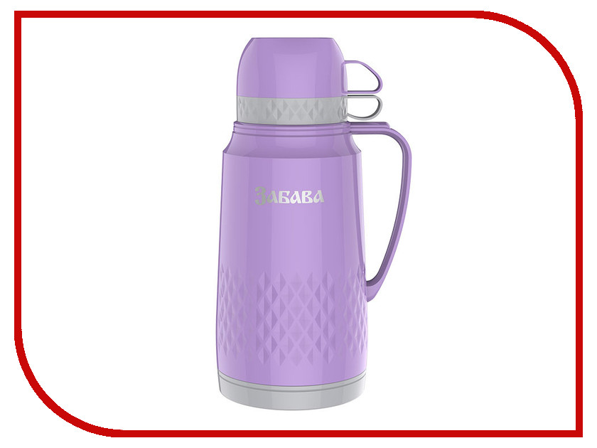 Термос Забава РК-1801 1.8L Lilac-Grey