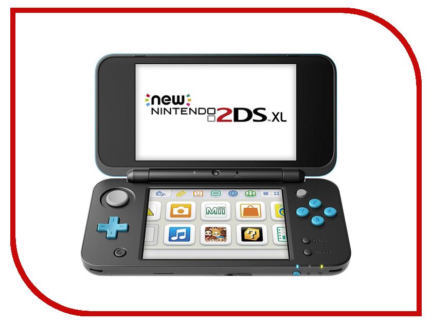 Игровая приставка Nintendo 2DS XL Black-Turquoise ConNd2D9