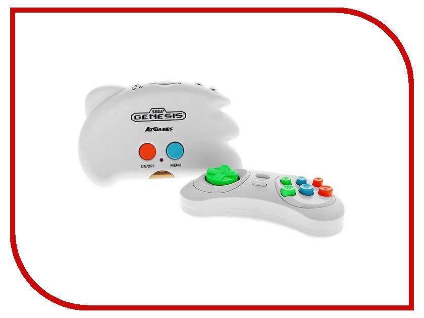 Игровая приставка SEGA Genesis Nano Trainer White + 390 игр