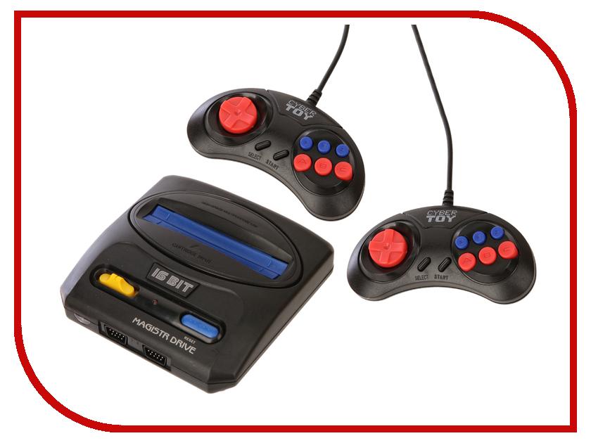 Игровая приставка SEGA Magistr Drive 2 + 9 игр игровая приставка sega genesis nano trainer white 390 игр
