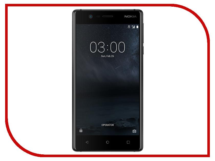 Сотовый телефон Nokia 3 Dual Sim Black сотовый телефон nokia 5 dual sim blue