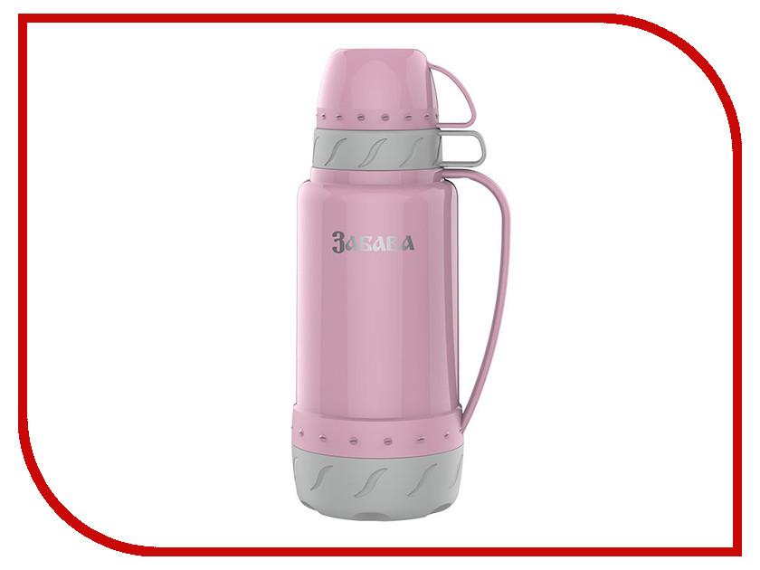 Термос Забава РК-1802 1.8L Pink-Grey термос забава рк 0751м россия 750ml