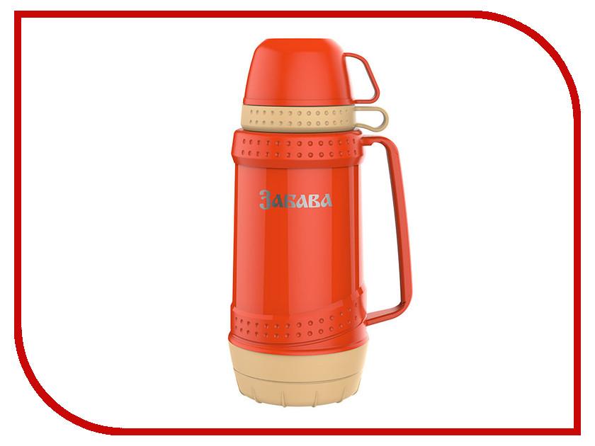 Термос Забава РК-1803 1.8L Orange-Beige термос забава рк 0751м россия 750ml