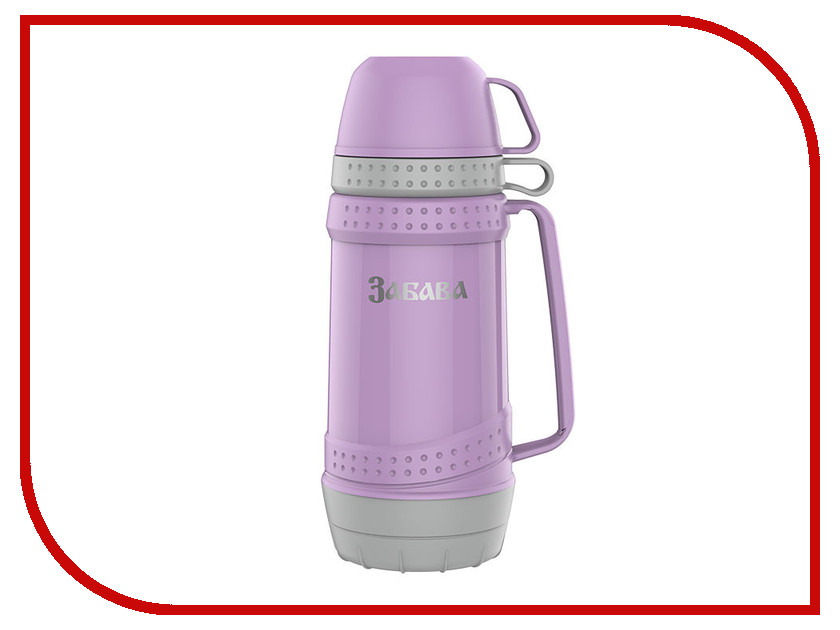 Термос Забава РК-1003 1L Lilac-Grey термос забава рк 0751м россия 750ml