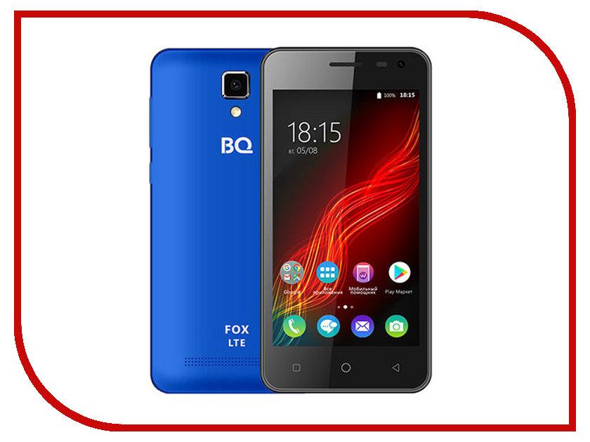Сотовый телефон BQ 4500L Fox LTE Blue сотовый телефон bq bqs 5070 magic lte brown