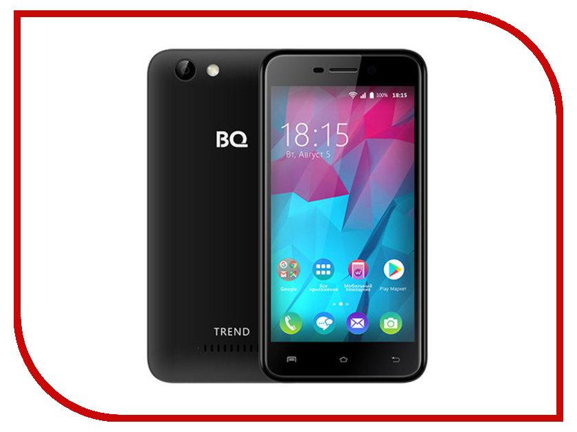Сотовый телефон BQ 5000L Trend Black мобильный телефон bq m 1565 hong kong silver