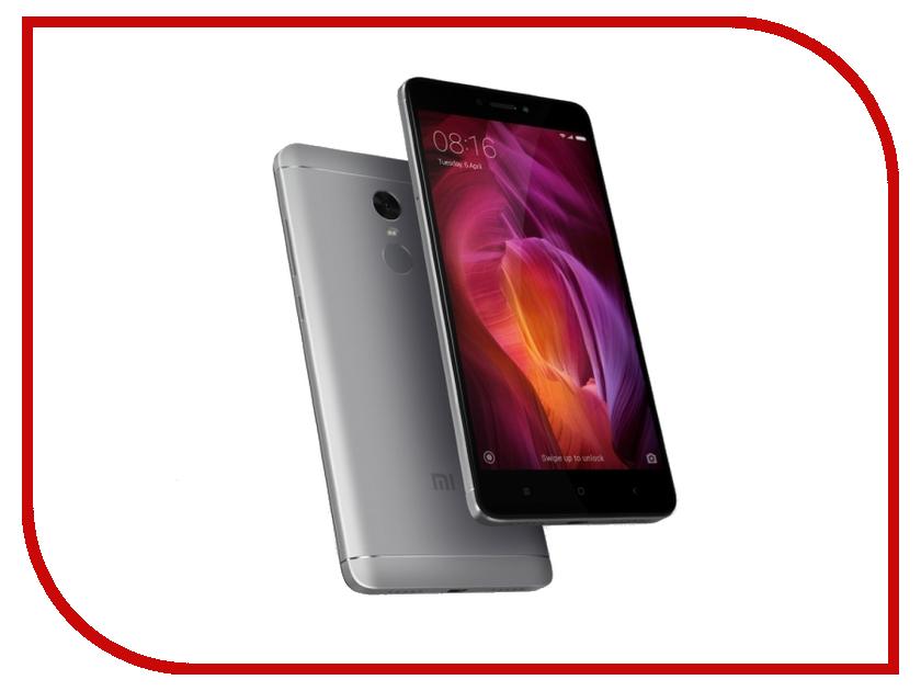 Сотовый телефон Xiaomi Redmi Note 4 4Gb RAM 64Gb Grey сотовый телефон xiaomi redmi note 5a prime 3gb ram 32gb rose gold