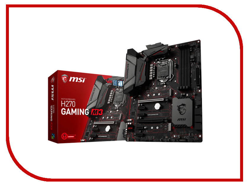 Материнская плата MSI H270 GAMING M3 материнская плата пк msi b250i gaming pro ac b250igamingproac