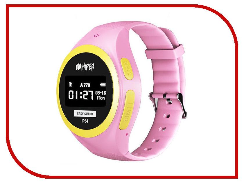 Умные часы Hiper EasyGuard EG-01PNK Pink hiper easyguard розовый
