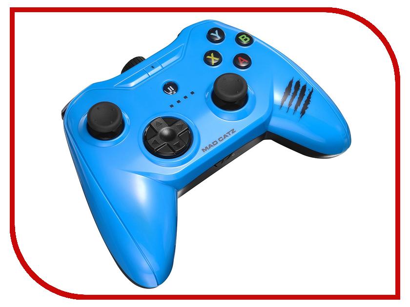 Гаджет Геймпад Mad Catz C.T.R.L.i Mobile Gamepad - Gloss Blue MCB312630A04/04/1 мышь mad catz rat 1 black red mcb4373800a3 06 1