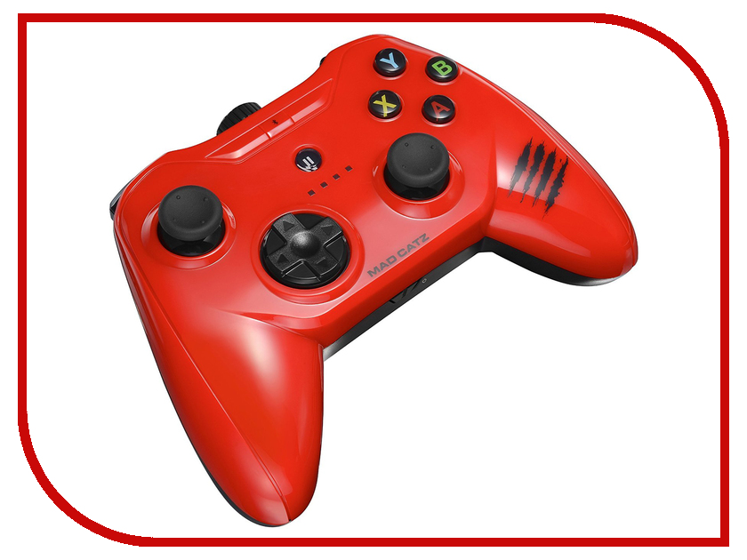 Гаджет Геймпад Mad Catz C.T.R.L.i Mobile Gamepad - Gloss Red MCB312630A13/04/1 гаджет геймпад mad catz c t r l i mobile gamepad gloss orange mcb312630a10 04 1