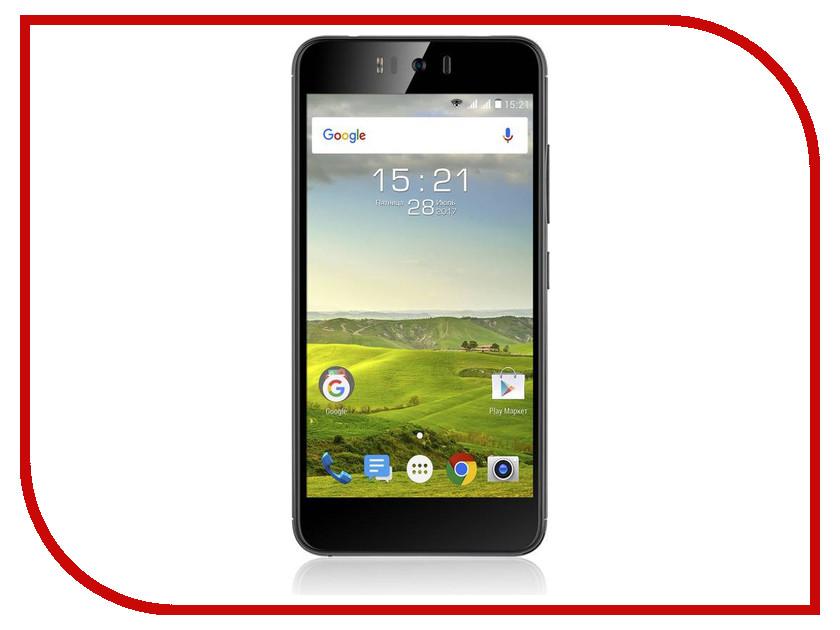 Сотовый телефон Fly FS520 Black мобильный телефон fly ff178 32mb black