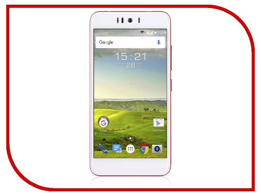 Сотовый телефон Fly FS520 Red цена и фото