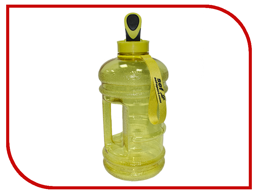 Бутылка Self BT-001 2.2L Yellow бутылка self bt 002 2 2l blue