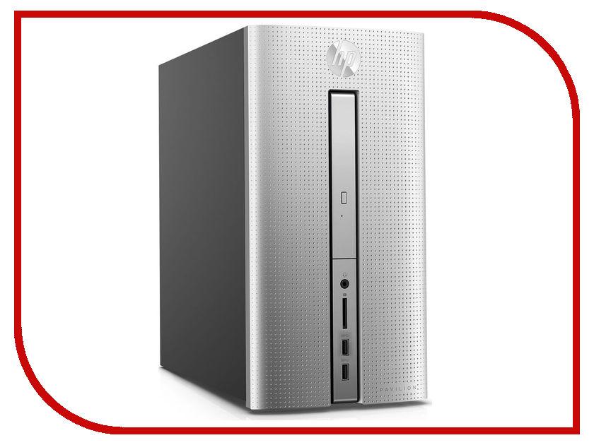 Неттоп HP Pavilion 570 570-p056ur Silver 1ZN06EA (Intel Core i5-7400 3.0 GHz/8192Mb/1000Gb/DVD-RW/MD Radeon RX 460 2048Mb/Wi-Fi/Bluetooth/Windows 10)