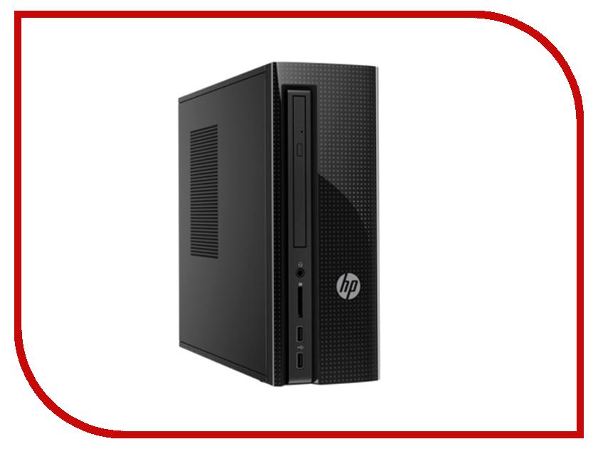 Настольный компьютер HP 260 260-p132ur Black Z0J82EA (Intel Core i3-6100T 3.2 GHz/8192Mb/1000Gb/DVD-RW/Intel HD Graphics/Wi-Fi/Bluetooth/Windows 10) hewlett packard hp лазерный мфу печать копирование сканирование