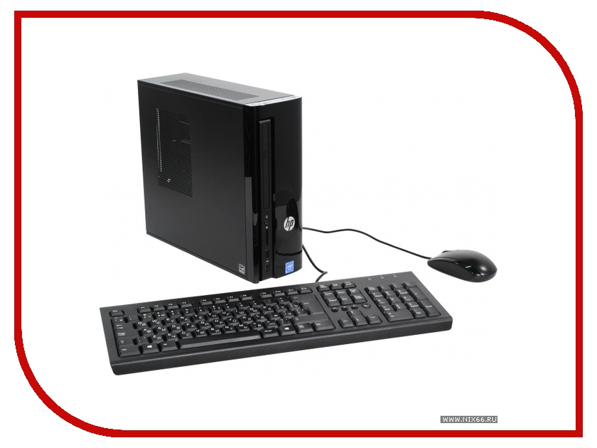 Настольный компьютер HP 260 260-a110ur Black Z0J79EA (Intel Celeron J3060 1.6 GHz/4096Mb/500Gb/DVD-RW/Intel HD Graphics/Wi-Fi/Bluetooth/Windows 10)