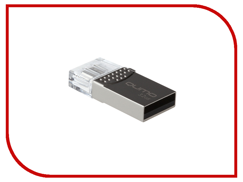 Zakazat.ru: USB Flash Drive 32Gb - Qumo Keeper