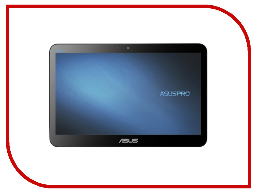 Моноблок ASUS A4110-WD055M 90PT01H2-M06090 (Intel Celeron J3160 1.60 GHz/4096Mb/500Gb/Intel HD Graphics/Wi-Fi/Cam/15.6/1366x768/Touchscreen/DOS)