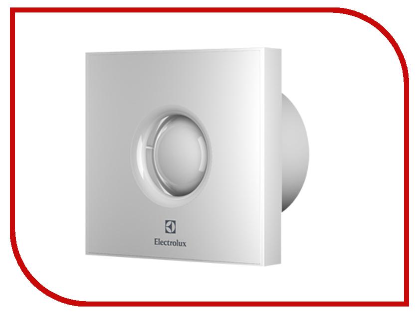 Вытяжной вентилятор Electrolux Rainbow EAFR-100 White бытовой вентилятор electrolux move eafv 100 с датчиком движения