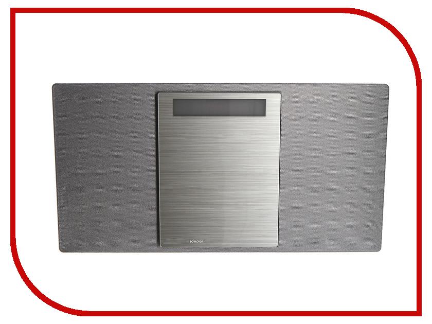 Минисистема Panasonic SC-HC400 Silver SC-HC400EE-S apple портативная колонка panasonic sc hc49gk s hifi cd