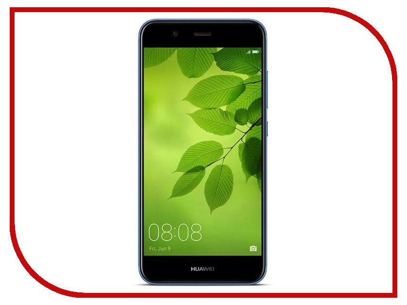 Сотовый телефон Huawei Nova 2 Blue телефон huawei nova розовое золото