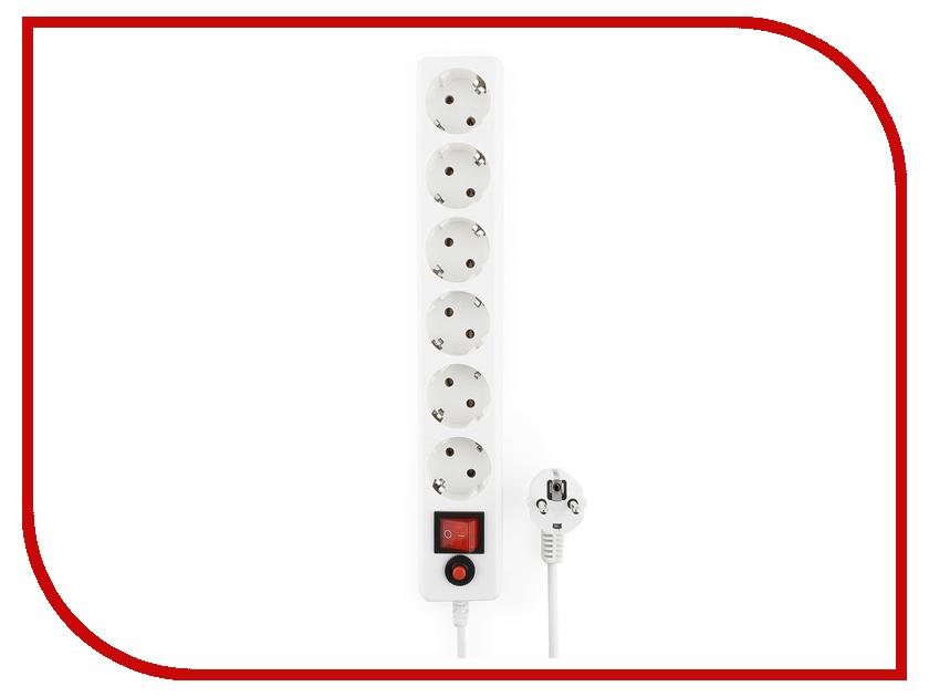 Сетевой фильтр Гарнизон 6 Sockets 3m EHW-10 сетевой фильтр daesung mc2533 3 sockets 3m