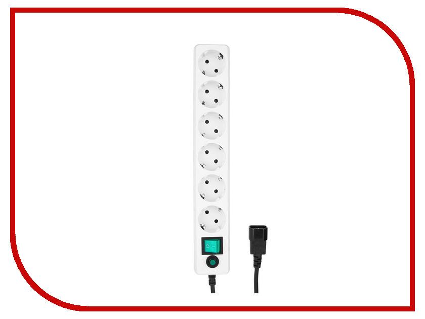 Сетевой фильтр Гарнизон 6 Sockets 0.5m EHW-0