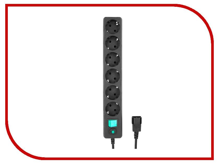 Сетевой фильтр Гарнизон 6 Sockets 0.5m EHB-0 сетевой фильтр most rg 6 sockets 5m white 587278
