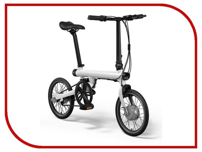 электровелосипед Mijia Xiaomi QiCycle Folding Electric Bike White