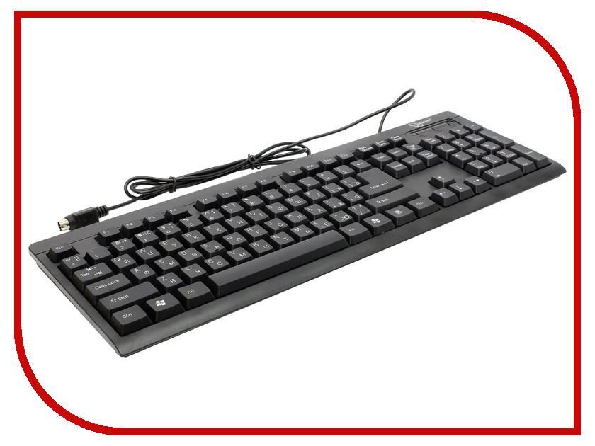 Клавиатура Gembird KB-8300-BL-R PS/2