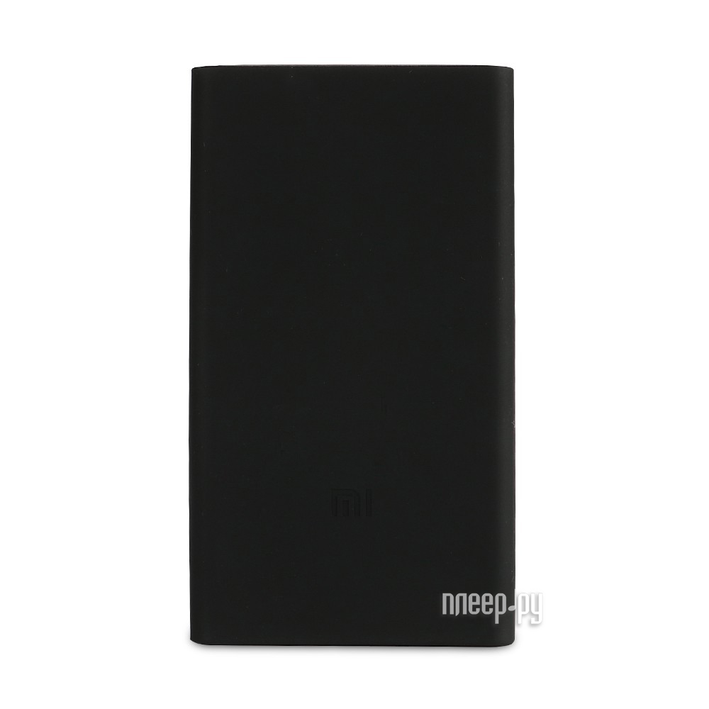 Чехол Xiaomi Silicone Case for Power Bank 2 10000mAh Black