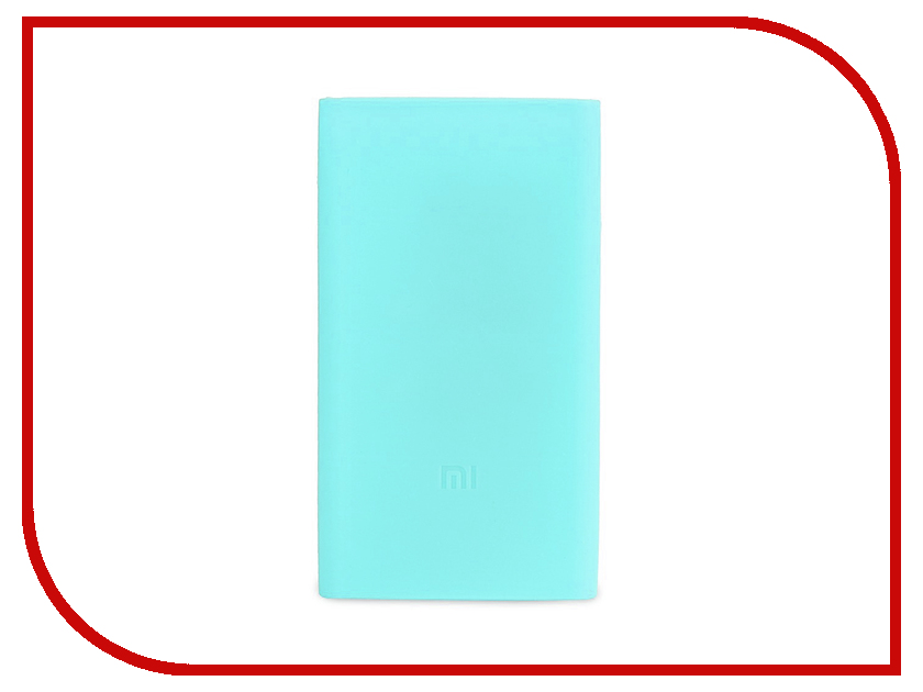 Аксессуар Чехол Xiaomi Silicone Case for Power Bank 2 10000mAh Blue op 2 diy usb 2 x 18650 battery external power bank case w led indicator yellow grey 5v
