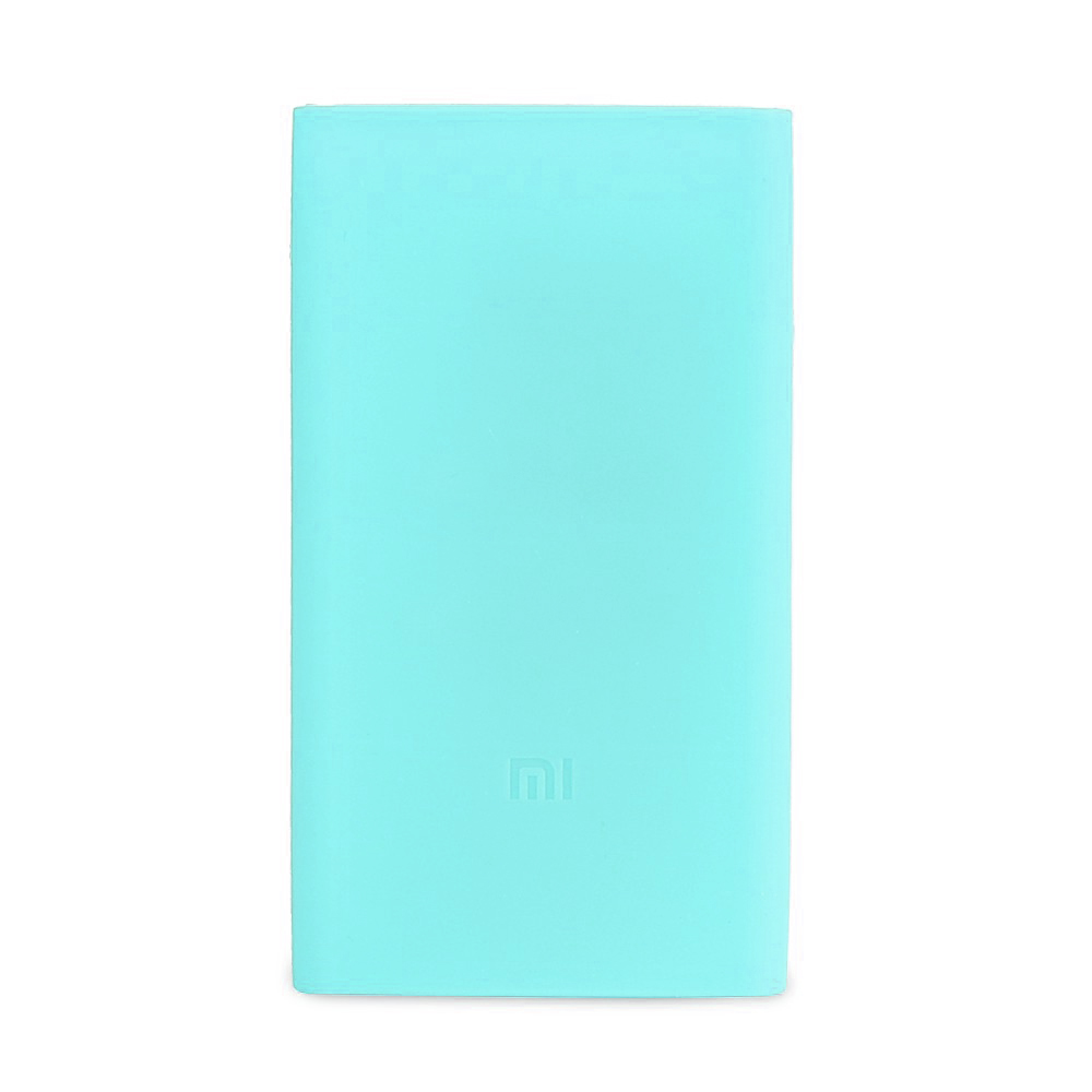 Аксессуар Чехол Xiaomi Silicone Case for Power Bank 2 10000mAh Blue original oneplus 10000mah power bank silicone case charger protector cover black