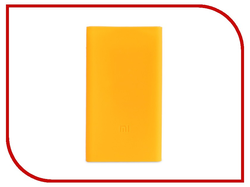 Аксессуар Чехол Xiaomi Silicone Case for Power Bank 2 10000 mAh Orange