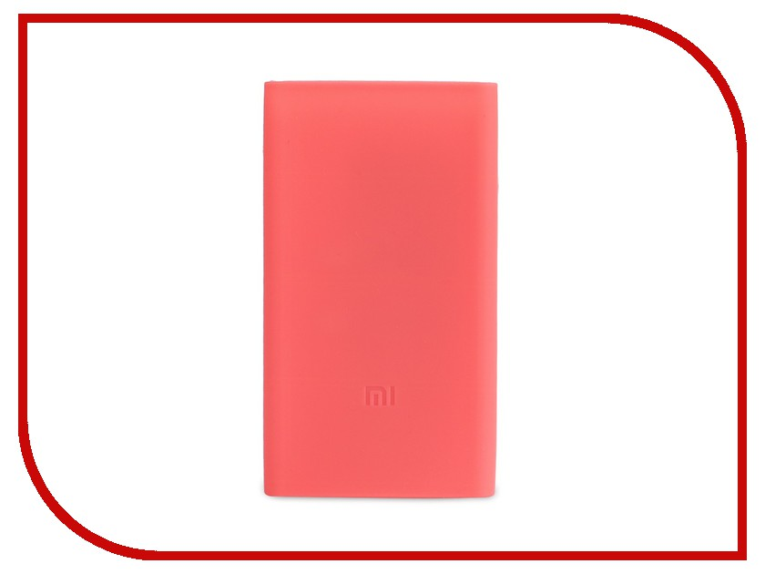 Аксессуар Чехол Xiaomi Silicone Case for Power Bank 2 10000mAh Pink op 2 diy usb 2 x 18650 battery external power bank case w led indicator yellow grey 5v