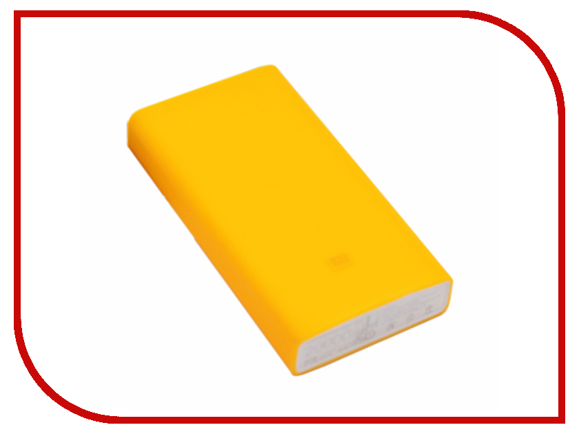 Аксессуар Чехол Xiaomi Silicone Case for Power Bank 2 20000 mAh Orange